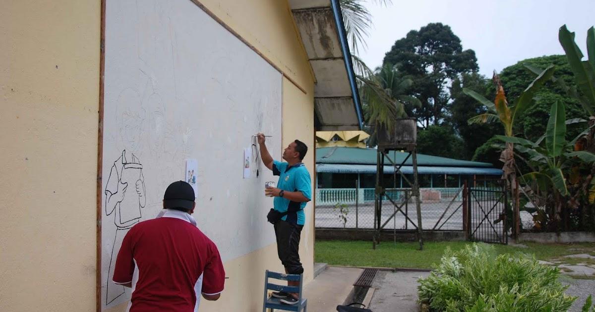 Pendidikan seni visual mural sekolah for Mural sekolah