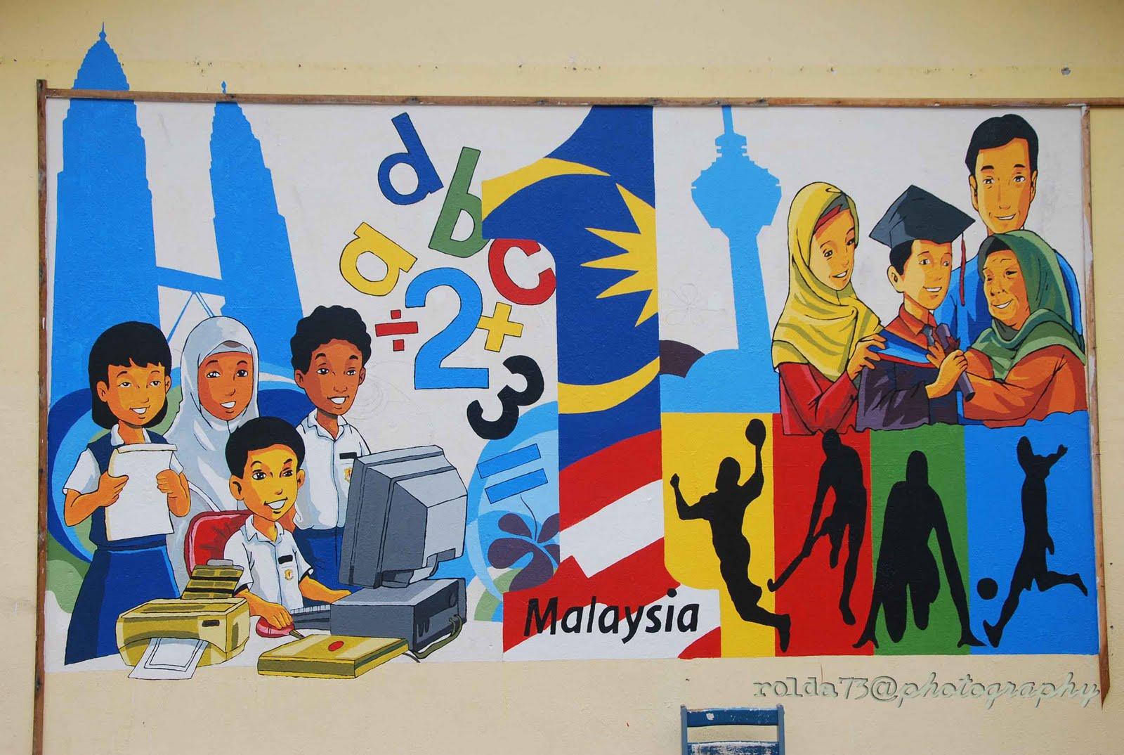 Pendidikan Seni Visual Mural Sekolah