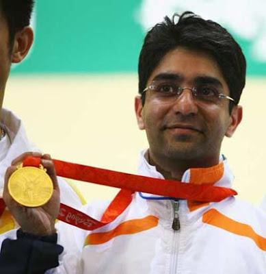 Photos: Bindra wins Men's 10m Air Rifle gold