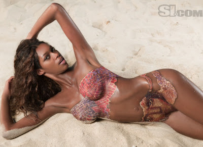 Jessica White Body Paint