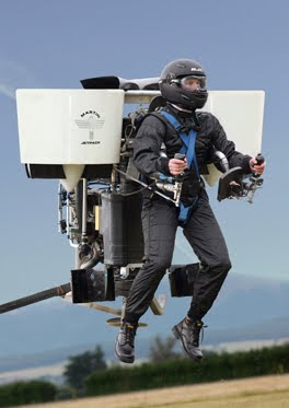 Martin Jetpack - World's First Commercial Jetpack