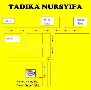 Lokasi : Tadika Nursyifa Taman Suria