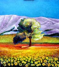 """Monte / Montagne """" Ste Victoire"""" (Cezanne) - Jicé"""