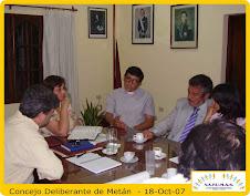 Concejo Deliberante METAN - 18-Oct-07