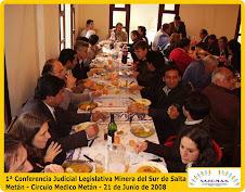 1ª Conferencia Judicial Legislativa Minera del Sur de Salta - Agasajo a los invitados.