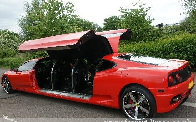 New Cars Bikes Ferrari 360 Modena Limousine Pictures