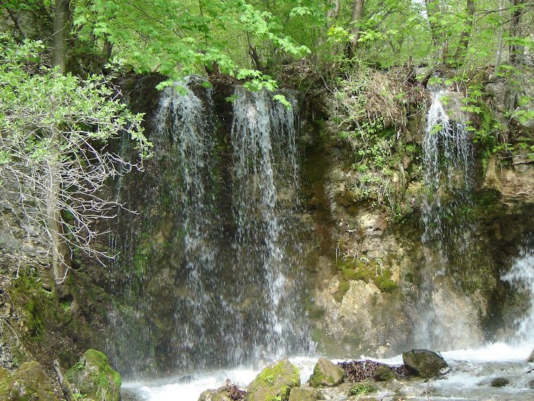 Háj vodopád   leto