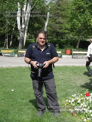 Jaime Vinals in Tehran