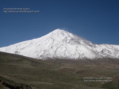 Damavand Mountain Iran
