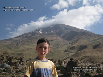 Camp Base Damawand, Hosain Mirzaei age 12