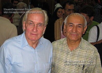 Doug Scott and Ardeshir Soltani, Tehran