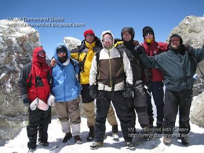 Damawand Summit 5671m Photo by A. Soltani