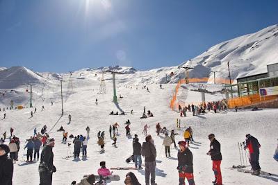 Ski Dizin Tehran, Iran