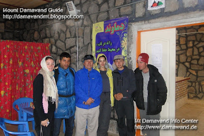 Pic Damavand Mount Iran