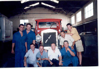 Camion de bomberos de antequera ma 2519 de dion bouton - Herreros en malaga ...