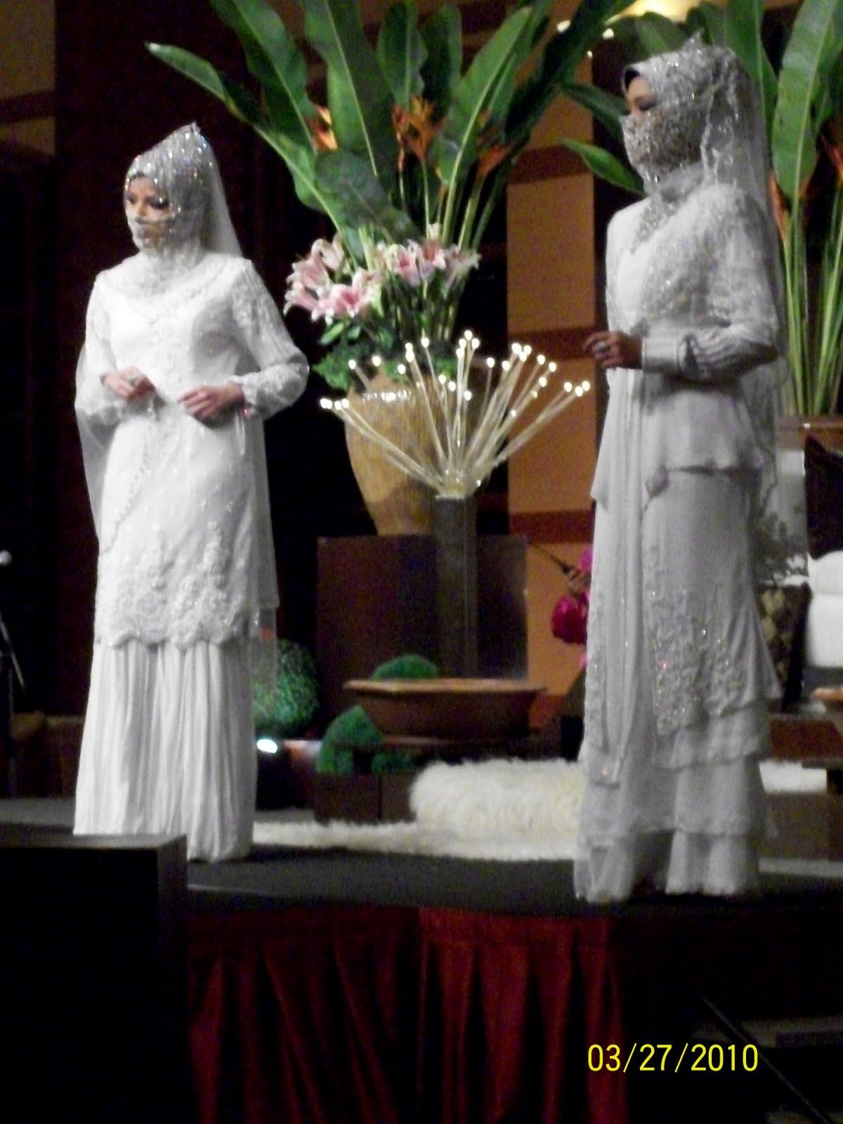 baju pengantin ala arab