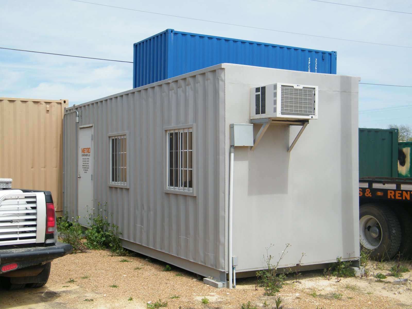 Texas container homes jesse c smith jr consultant latest visit to metro container - Container home builders in texas ...