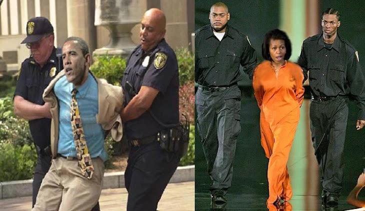 Obamas arrested