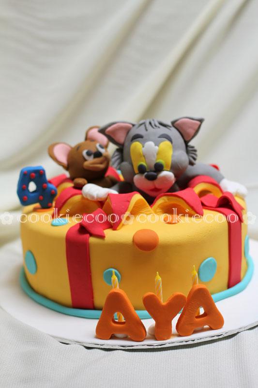 cookiecoo Tom Jerry cake for Aya