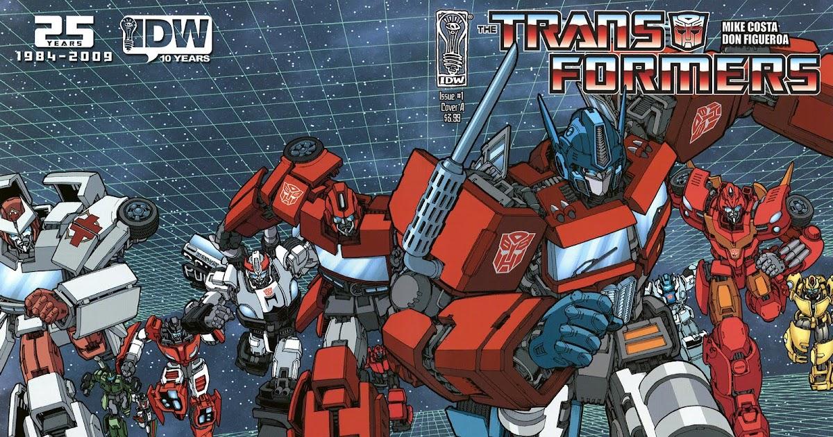 Mundo Transformer Comic Transformers Ongoing