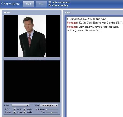 Chatroulette Screenshots