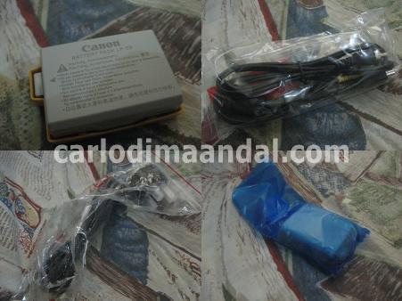 Canon EOS 500D unboxing