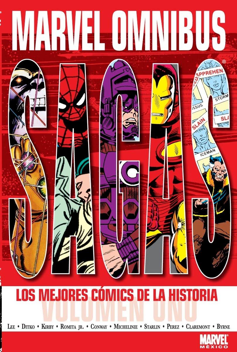 """COMPRO """"Marvel Omnibus"""" Marvel+Omnibus+Sagas+(Volumen+1)"""