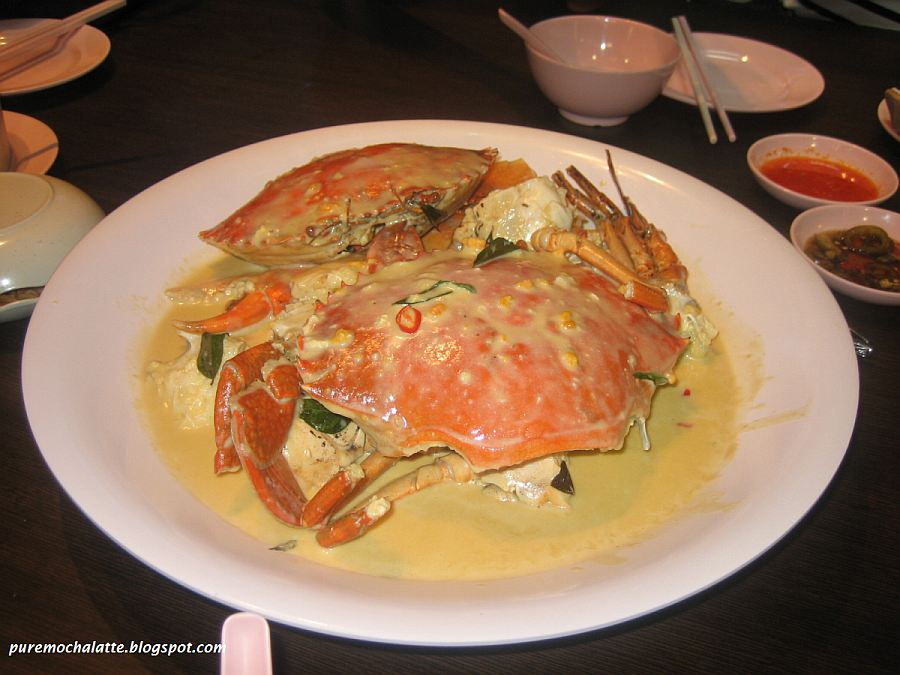 the signature butter cream crabs we ordered two of that female crabs ...