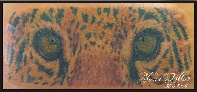 Onça pintada tatuagem