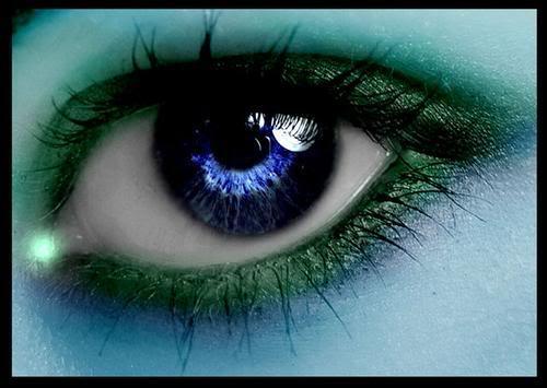 como es posible que en los ojos de una desconocida se pueda ver el ...