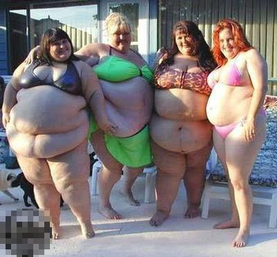They need to include some fat women in swim suits just to be fair and