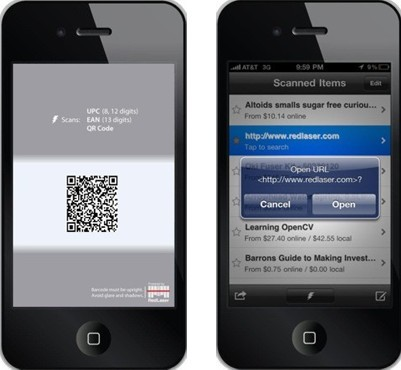 how to read barcodes with iphone