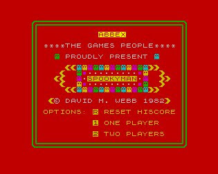 Spookyman - ZX Spectrum