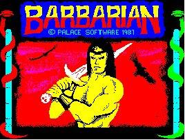 Barbarian ZX Spectrum