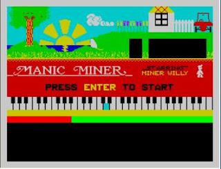 ZX Spectrum Manic Miner
