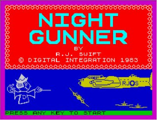 ZX Spectrum Night Gunner