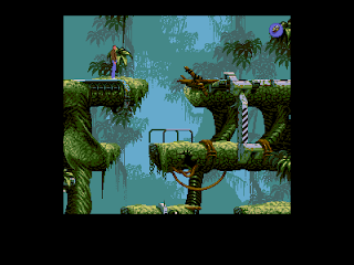 Amiga Games  Flashback  Start in the Forest