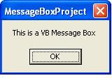VB Message Box