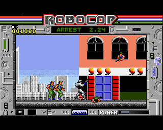 Robocop on the Amiga