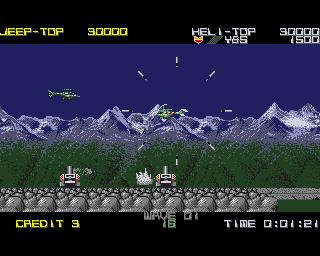Silkworm on the Amiga
