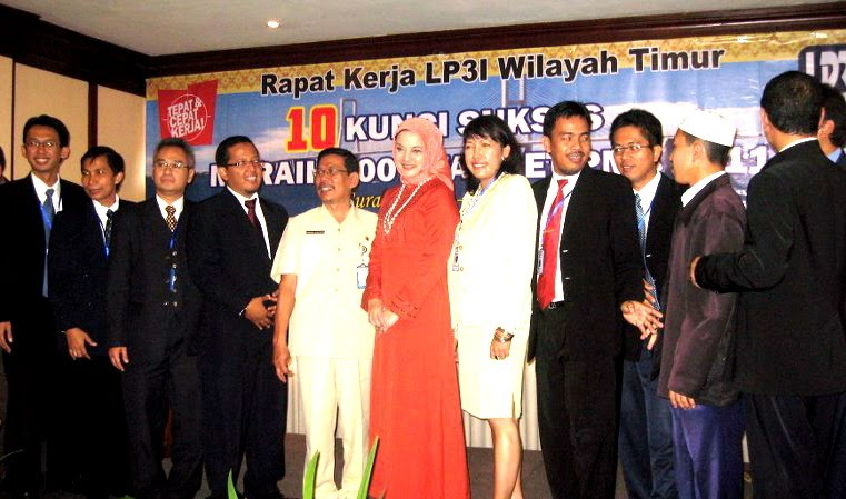 Wonderful Cooperation with LP3I Surabaya: Marissa Haque Fawzi