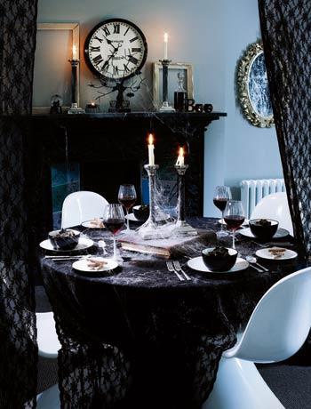 More Shabby Chic Halloween Interior & Decor Ideas