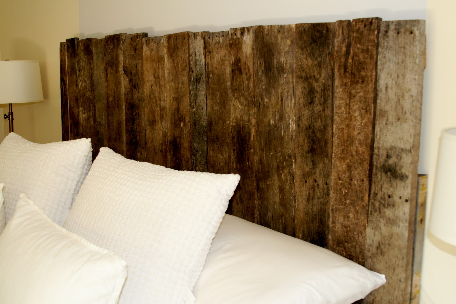 Sprig pallet headboard for How to make a headboard