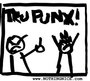 """you&#39;re not a hippie, hipster... what, then?"" ""we are TRUPUNX!!"""