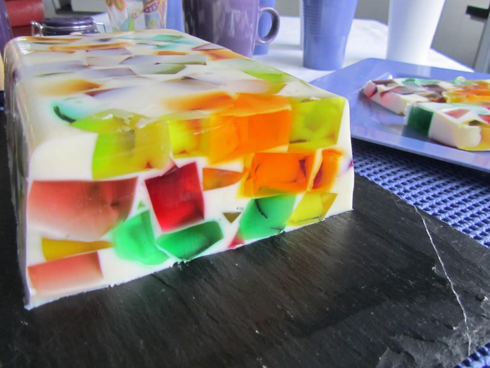 Las recetas de marichu y las mias vidriera de gelatina - Como hacer una vidriera ...