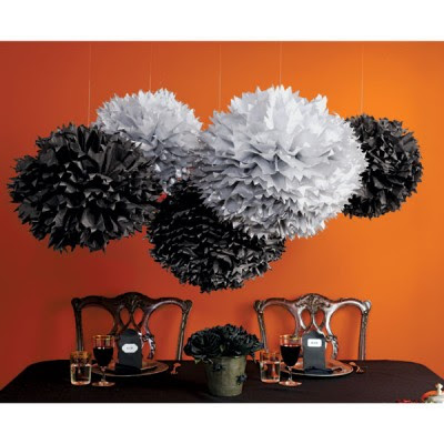 here are some awesome decorations for a halloween partyweddingrehearsal dinner or whatever your hearts desire for more go to the martha stewart online - Martha Stewart Halloween Decor