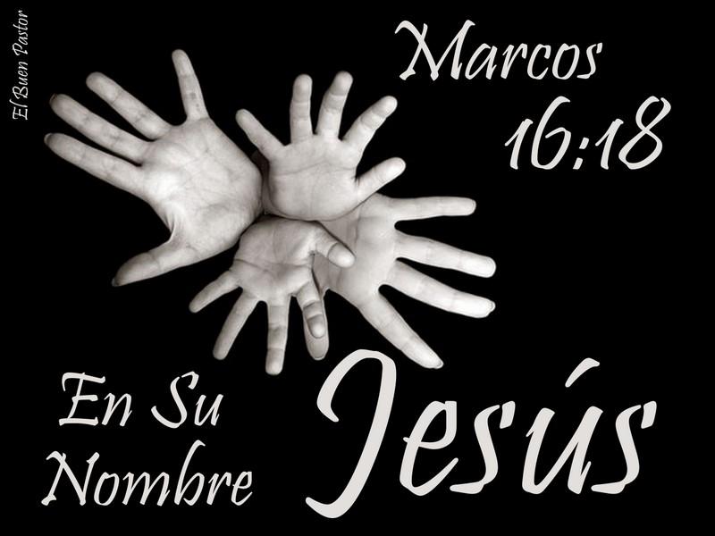 YO SOY EL BUEN PASTOR: Marcos 16:18