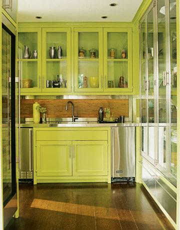 island modern kitchen set with multi sensorial by zaha hadid