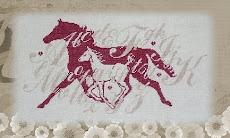 mes 2 amours: le cheval et les croix