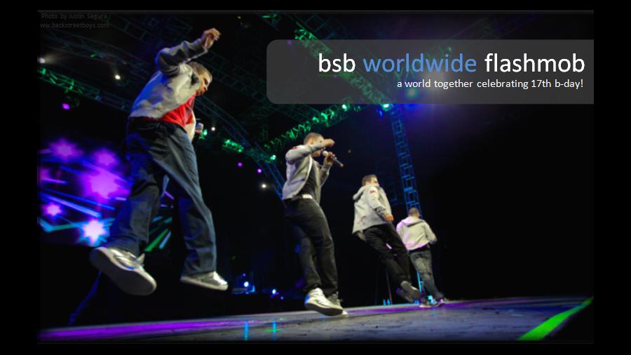Backstreet boys Flashmob